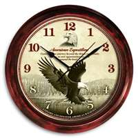 Eagle Signature Clock