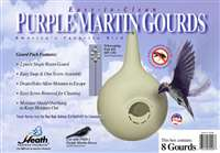 8-Pk. 2 Piece Easy Clean PM Gourd Starling Resistant/RH