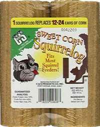 32 oz. Sweet Corn Squirrel Log +Frt