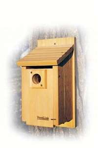 Traditional Bluebird House